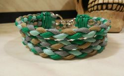 Halsband MALA Paracord - 3reihig | Round Line