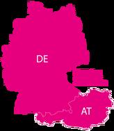 Versand Deutschlandweit und nach Österreich